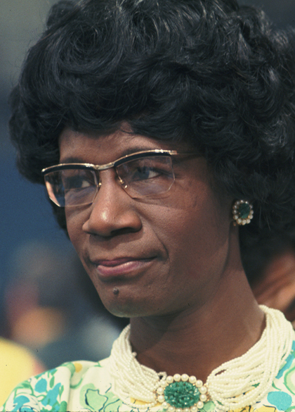 Image result for shirley chisholm
