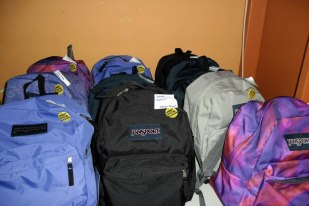 Completed Backpacks
