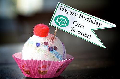 Happy Birthday Girl Scouts