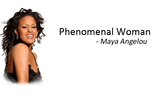 "an analysis of self love and pride in phenomenal woman by maya angelou Maya angelou - maya angelou: the strength of the in maya angelou's works ""phenomenal woman truths of the heart—""love and honor and pity and pride and."