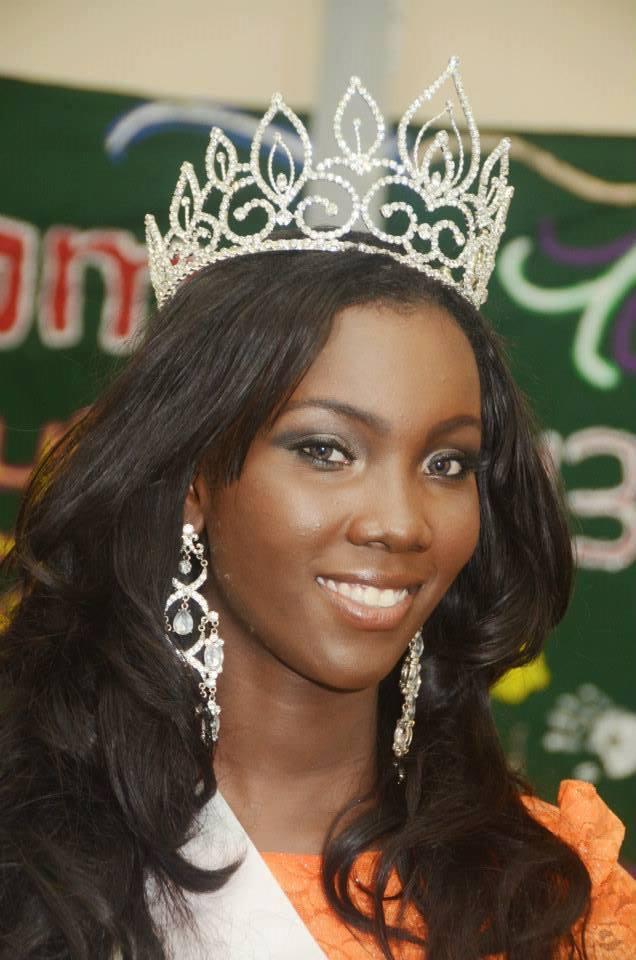 Reigning Miss Guyana World 2013, Ruqayyah Boyer