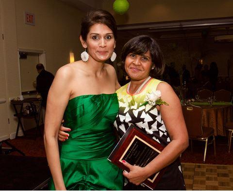 Shanie Persaud with Guyanese Virologist & HIV Groundbreaker, Dr. Deborah Persaud