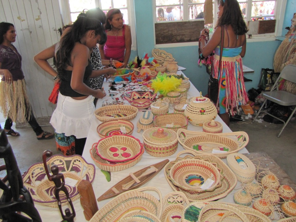 Beautiful pieces from the St. Cutbert's Mission - Guyana