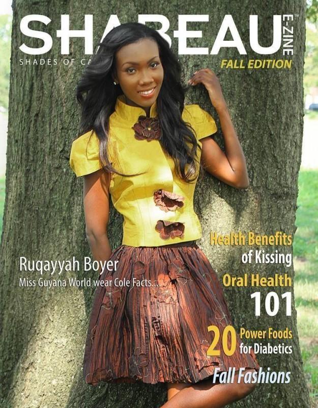 Miss World  Guyana 2013 - Ruqayyah Boyer