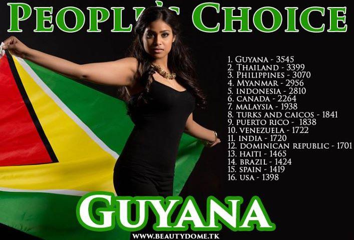 Katherina Roshana wins People's Choice Awar