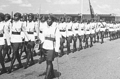 Female Guard of Honour