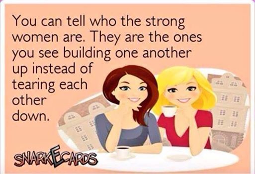 women need to band together