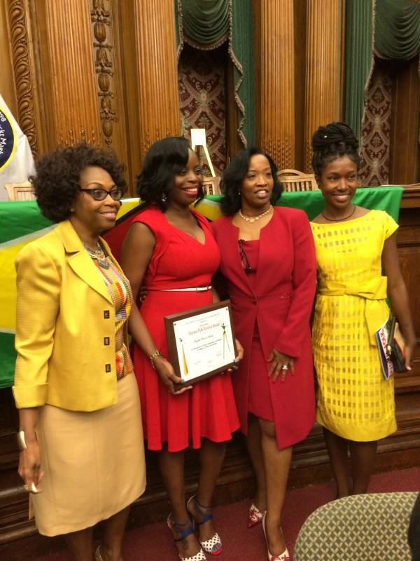 Cloyette with GCA Committee Members