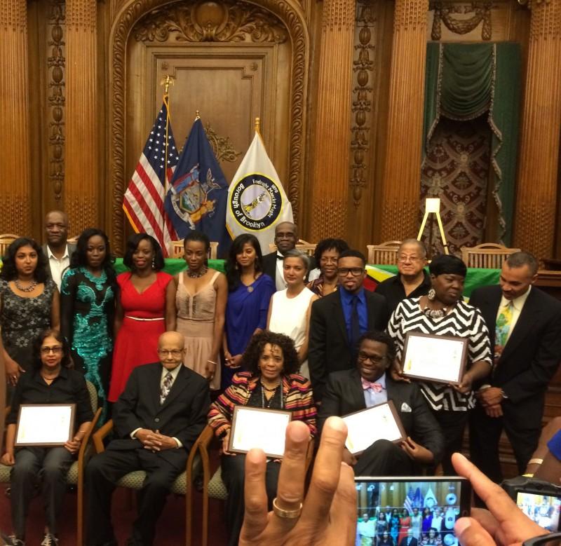 Guyana Cultural Association 2014 Honorees