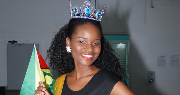 Onesha Hutson, Miss Global International 2014