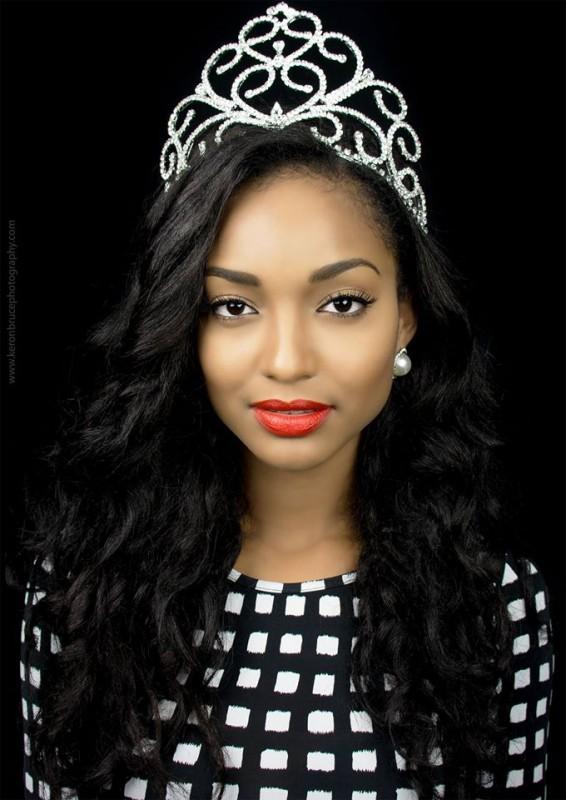 Miss Universe Guyana 2014, Niketa Barker.  Photos by
