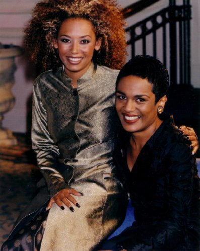Rianna Scipio and former Spice Girl, Mel B