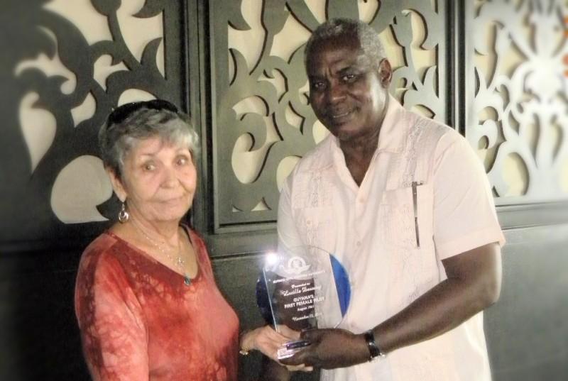 Guyana's Pioneer Female Pilot,  Lucille Dawsey