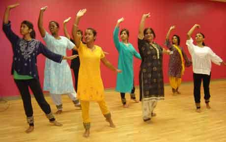 Deviekha Chetram and her Tarana team performing in 2009.
