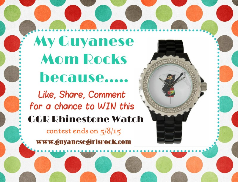 My Guyanese Mom Rocks
