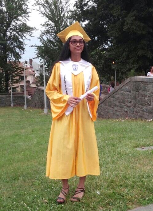 Bibi Sulaman graduated as valedictorian of Jamaica Gateway to the Sciences High School this past June 2015