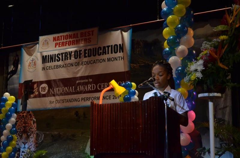 Shonta Noel Addressing the Gathering