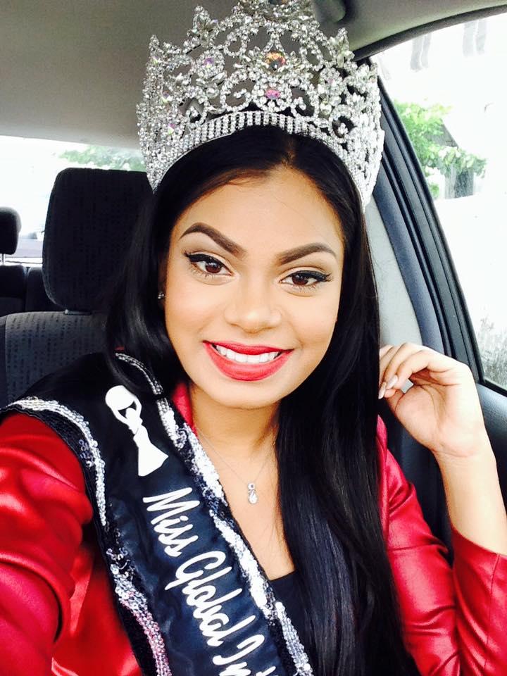 Miss Global International Guyana 2016- Poonam Singh