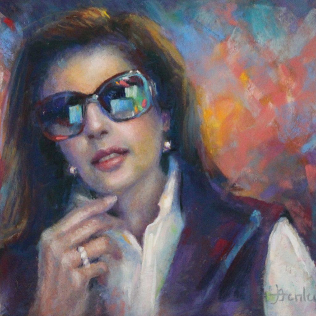 Denise Henley Portrait artist;