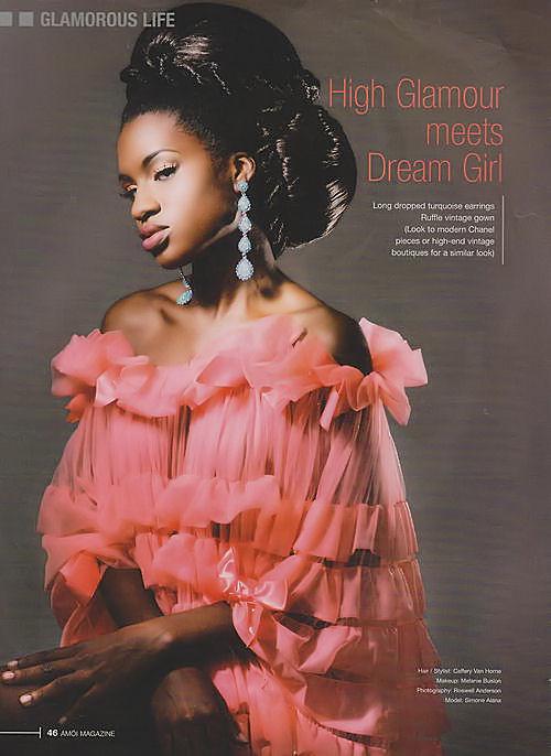 Simone Small in Amoi Magazine