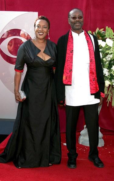 Actress CC Pounder and Husband