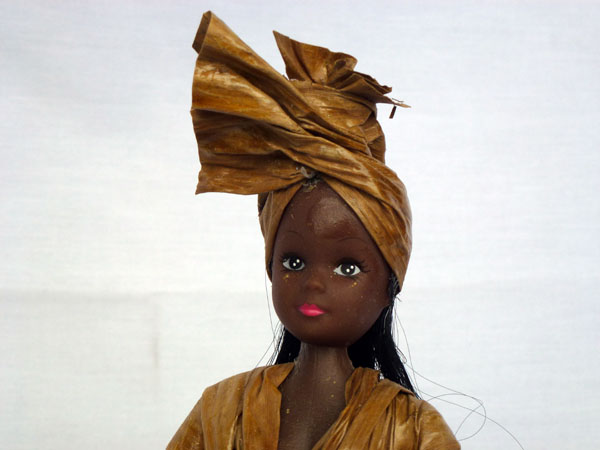 Banana Leaf Outfit Doll