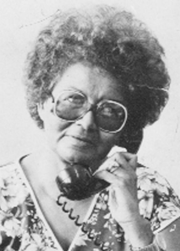 Pat Cameron earlier in her career.