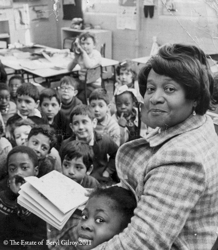 Novelist, poet and esteemed headteacher Beryl Gilroy