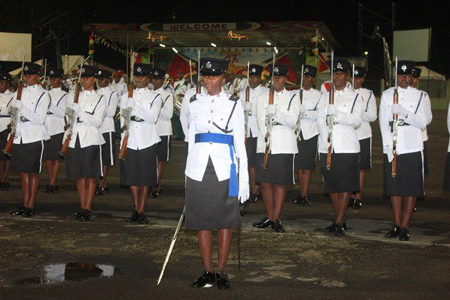 Women of The Guyana Police Force