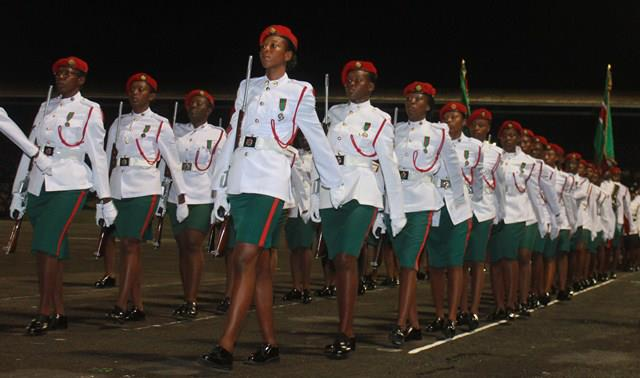 Women of The Guyana Defence Force