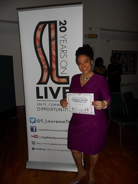 Sherry Dixon - 2013 Stephen Lawrence Women's Awards Recipient