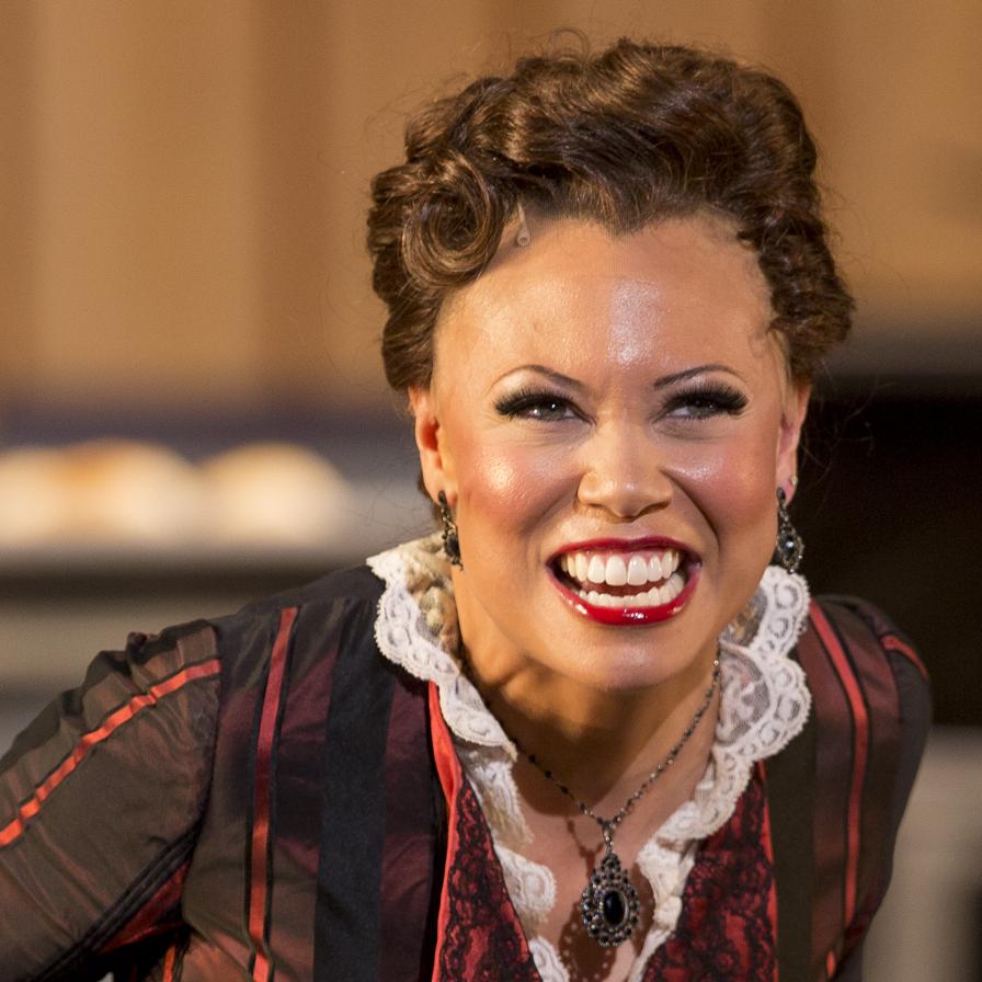 Alyson as Julia in Show Boat