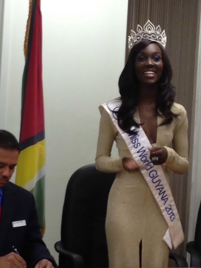 Miss Guyana World 2013, Ruqayyah Boyer