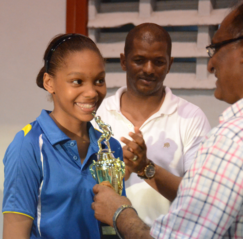 Table Tennis Champion Chelsea Edghill