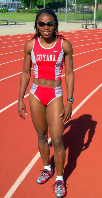 Two-time Olympian Marian Burnett