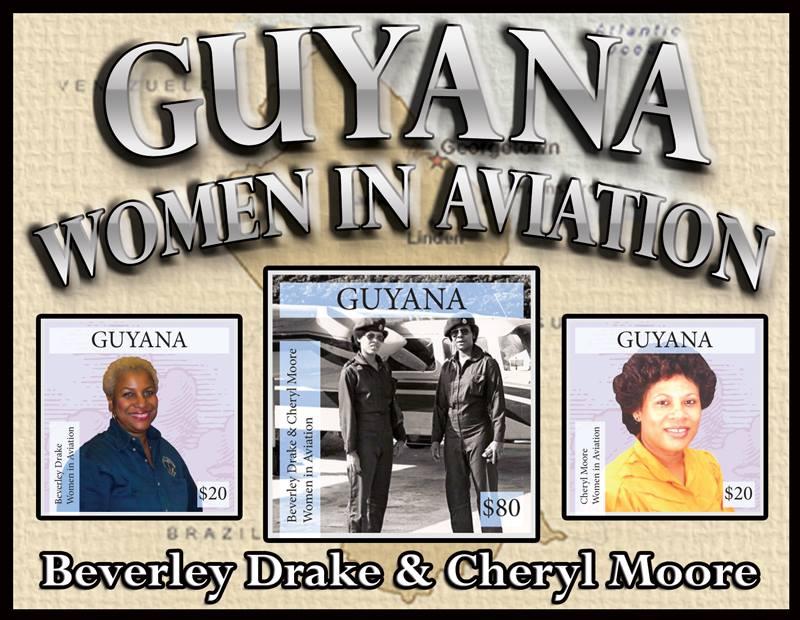 Beverley Drake & Cheryl Commarative Stamps