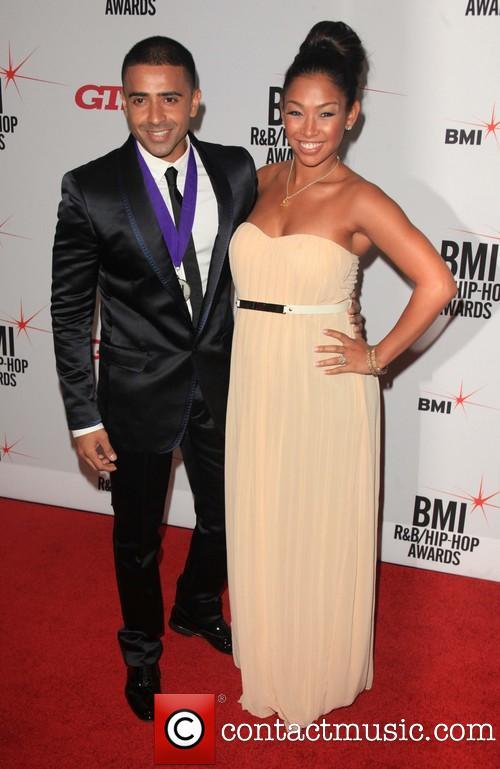 Thara Prashad and husband, Jay Sean at the 2013 BMI R&B Hip-Hop Awards at the Manhattan Cente