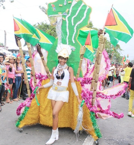 Mashramani Celebration in Guyana