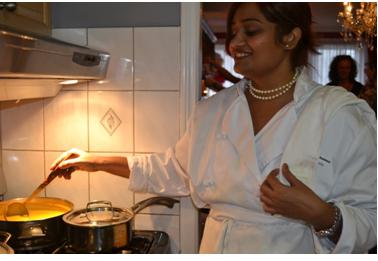 Shaunna in the Kitchen