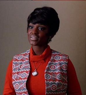 Yaani King - as Peggy's Secretary on Mad Men