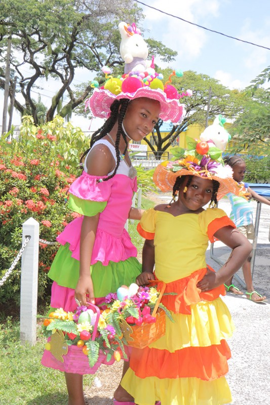 Easter Hat Parade in Georgetown