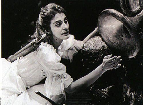 Jill Gomez in La Calisto, Glyndenbourne 1970