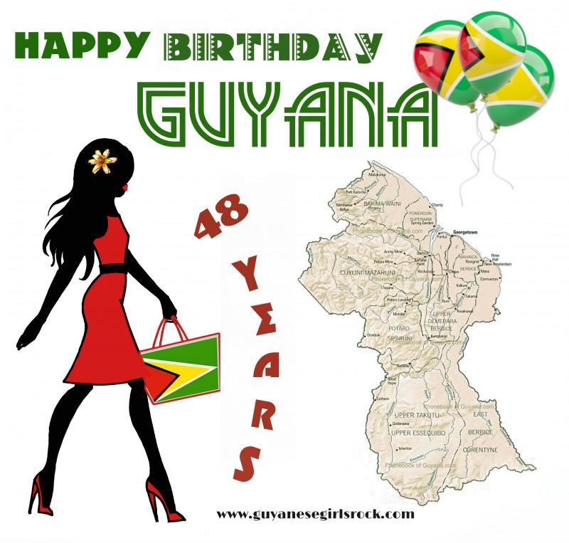 HAPPY BIRTHDAY GUYANA