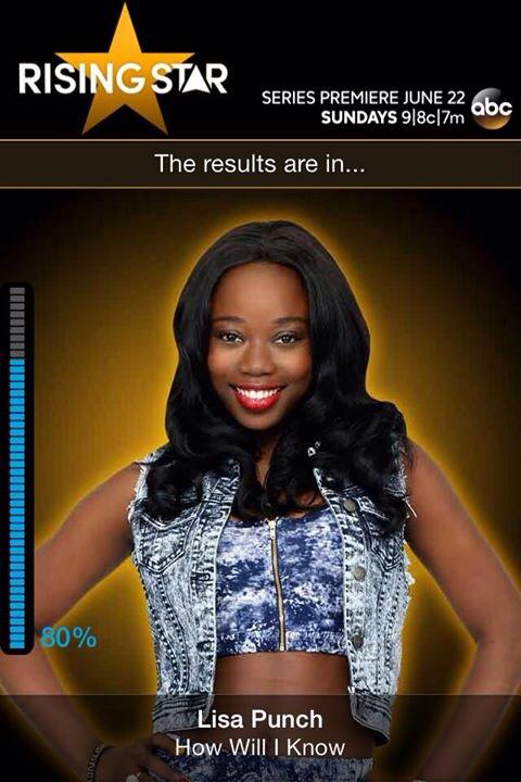 Rising Star Contestant, Lisa Punch