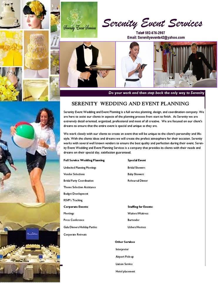 Serenity Event Services