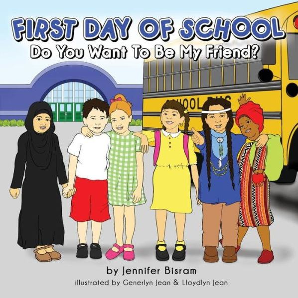 First Day of School Do You Want to be My Friend?