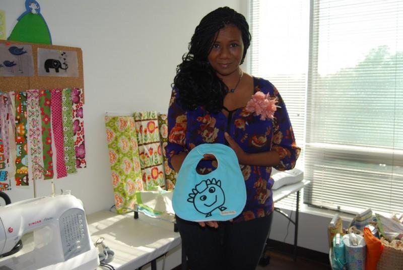 Soyini Geoge in her Studio