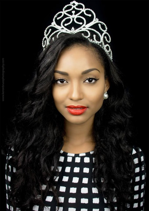 Miss Universe Guyana 2014, Niketa Barker.  Photos by
