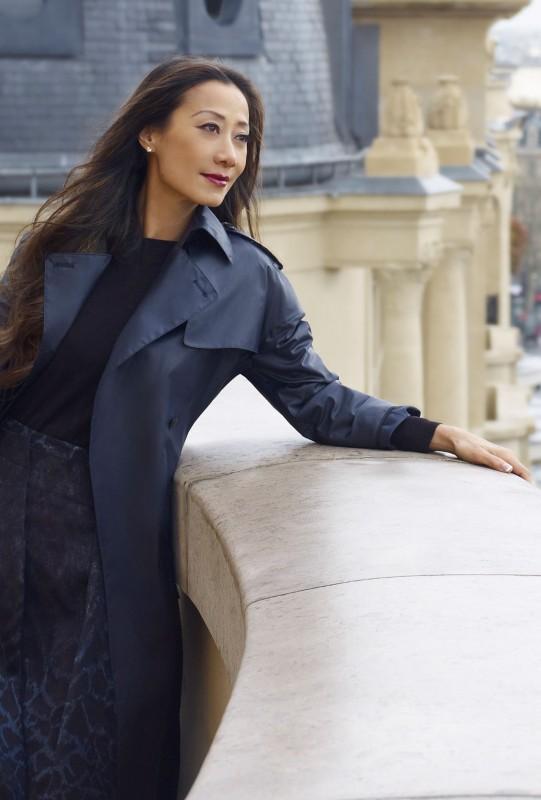 Flora Zeta Cheong Leen in Salvatore Ferragamo Ad
