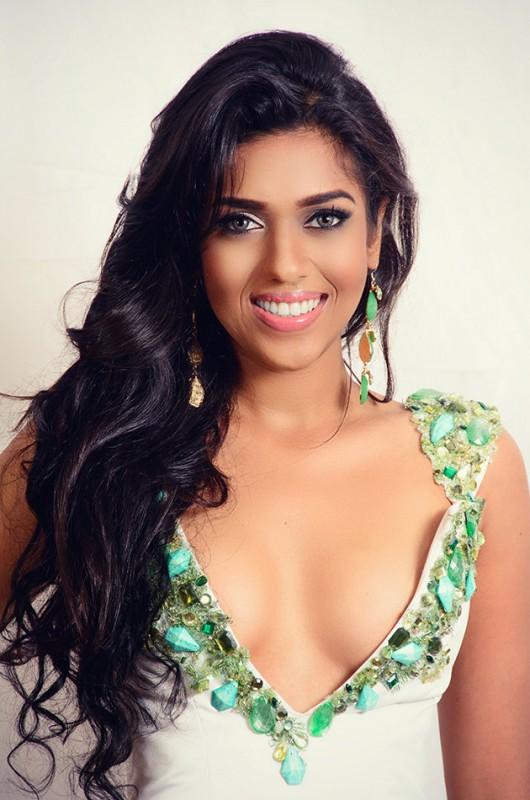 Miss Guyana Stacy Ramcharan